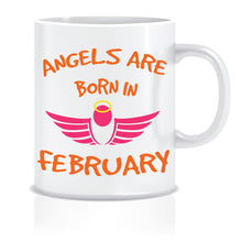 February birthday mugs