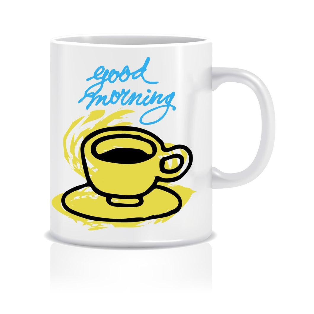 Good Morning Coffee Mug ED008