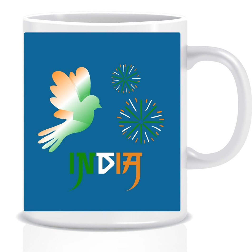 India Ceramic Coffee Mug ED018