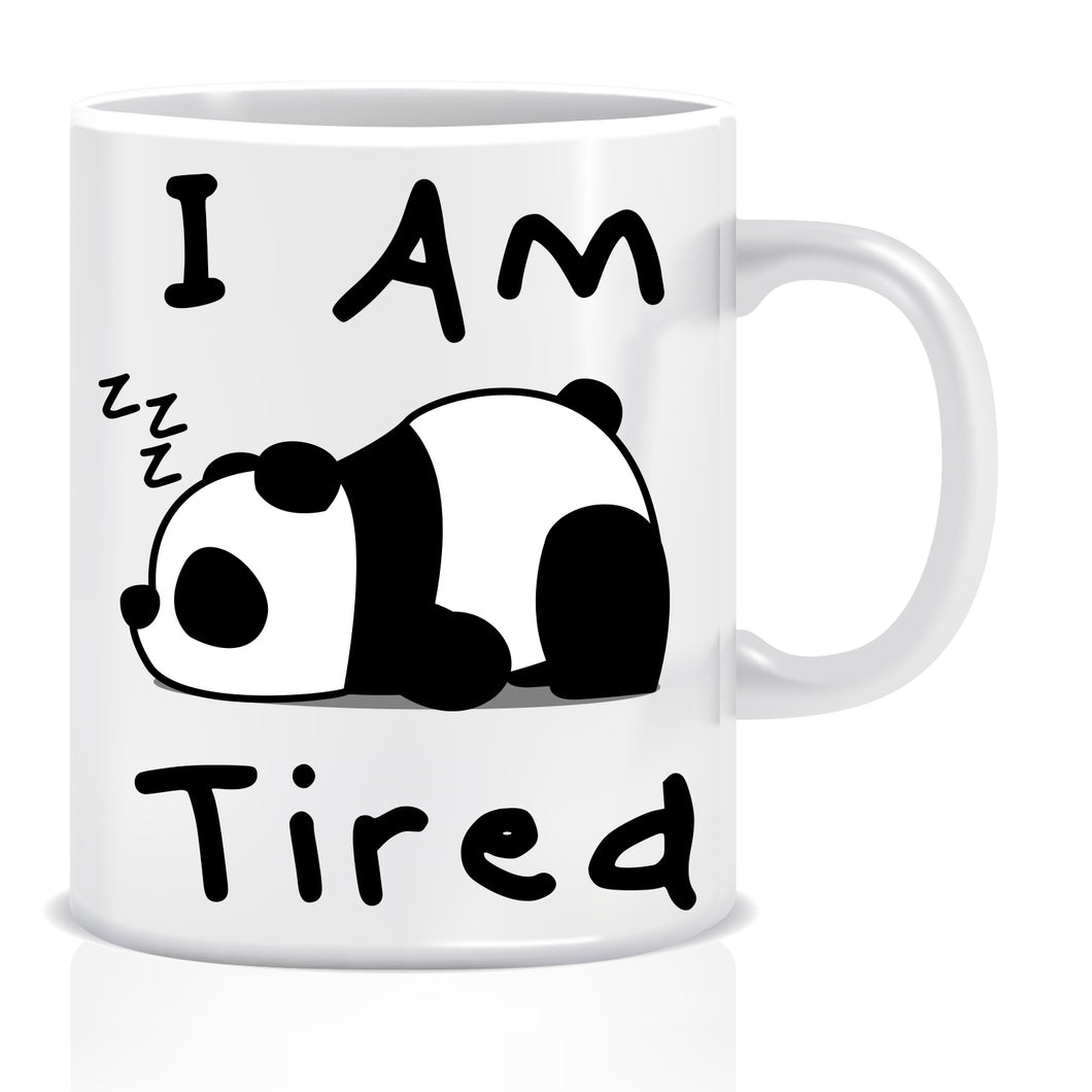 I AM Tried Ceramic Coffee Mug | ED1437