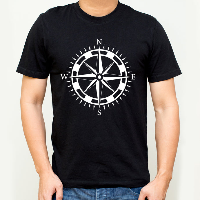 Compass cotton T-shirt | T092