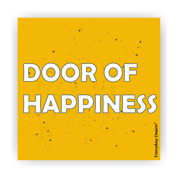 Flexible Fridge Magnet | Door of Happiness - FM154
