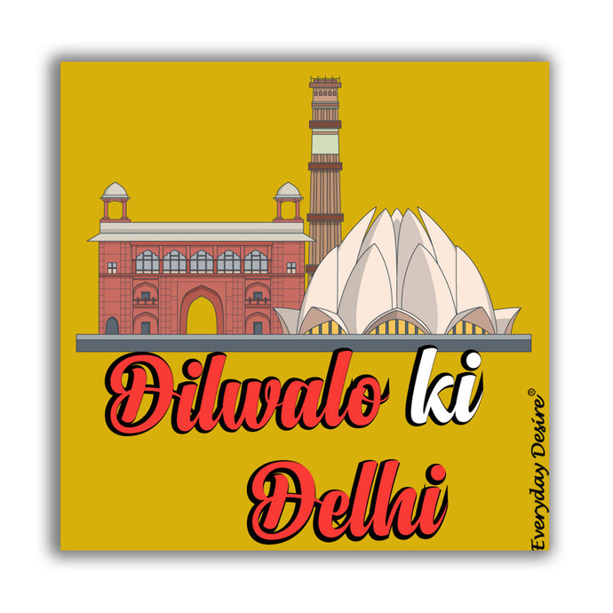 Flexible Fridge Magnet | Dil Walo KI Delhi - FM148
