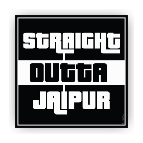 Flexible Fridge Magnet | Straight Outta Jaipur - FM088