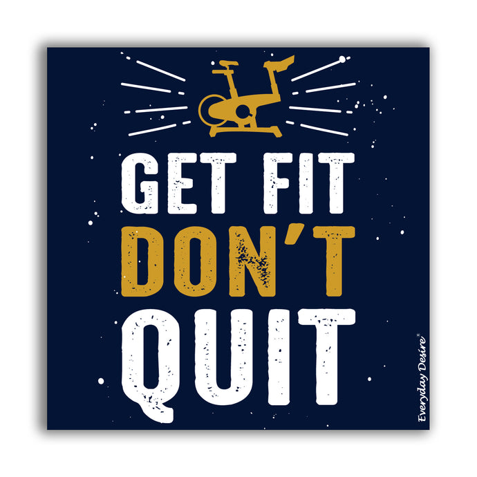 Fridge Magnet | Get Fit Don't Quite - FM141