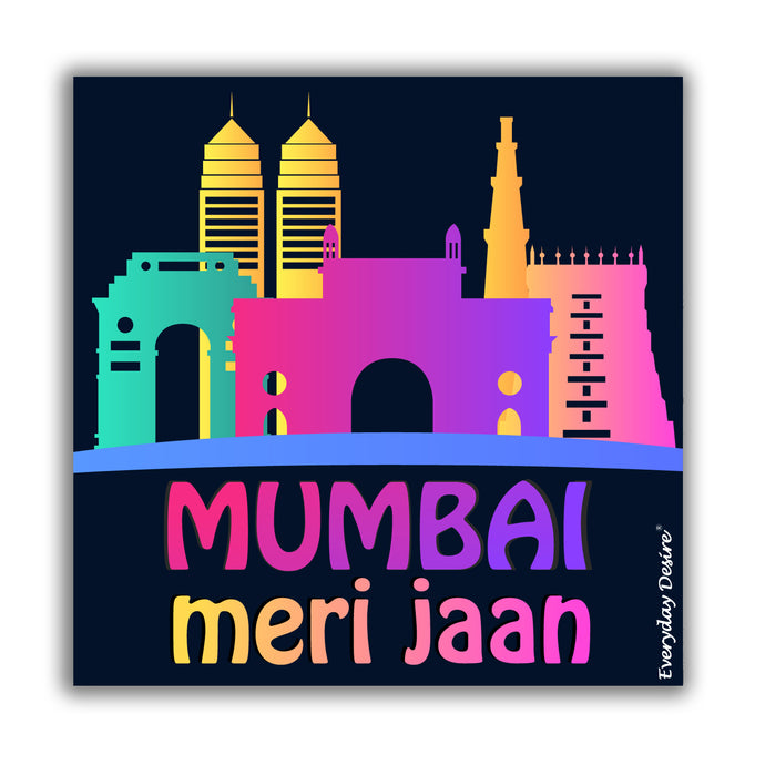 Flexible Fridge Magnet | Mumbai Meri Jaan - FM144