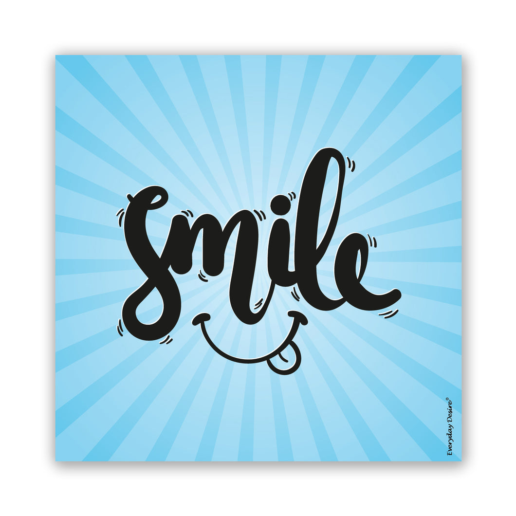 Smile fridge magnet