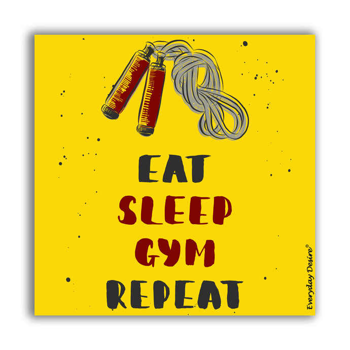 Fridge Magnet | Eat Sleep Gym Repeat - FM142