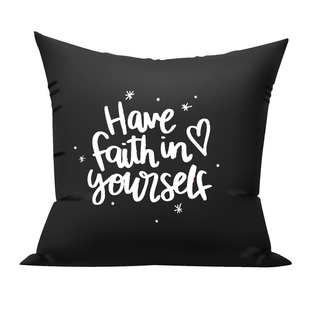 have faith cushion