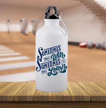 printed gym bottle