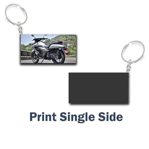 Customize  Key Chain Retringle  | Any Photo/Logo can be printed