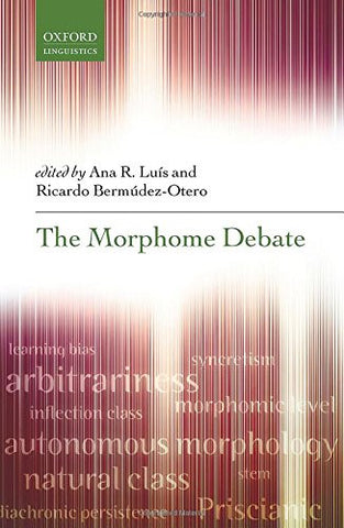 The Morphome Debate