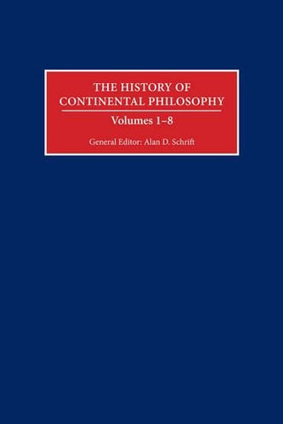 The History of Continental Philosophy