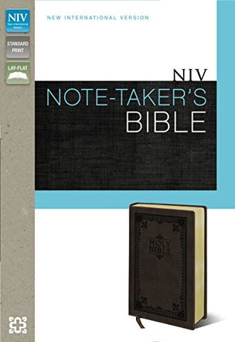 NIV, Note-Taker's Bible, Imitation Leather, Brown