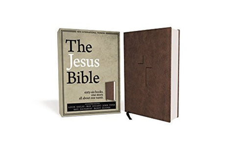 The Jesus Bible, NIV Edition, Imitation Leather, Brown