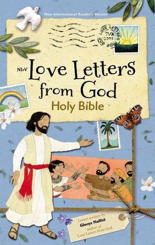 NIrV Love Letters from God Holy Bible, Hardcover