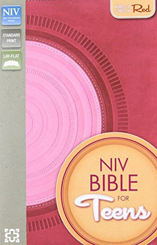 NIV, Bible for Teens, Imitation Leather, Pink