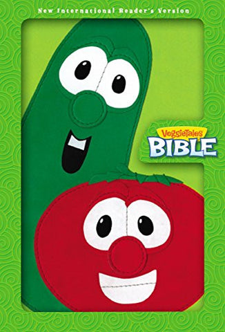 NIrV, VeggieTales Bible, Imitation Leather, Green/Red (Big Idea Books)