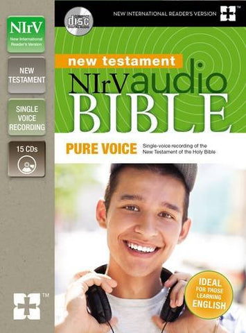 NIrV Audio Bible New Testament, Pure Voice: Single-voice recording of the New Testament of the Holy Bible