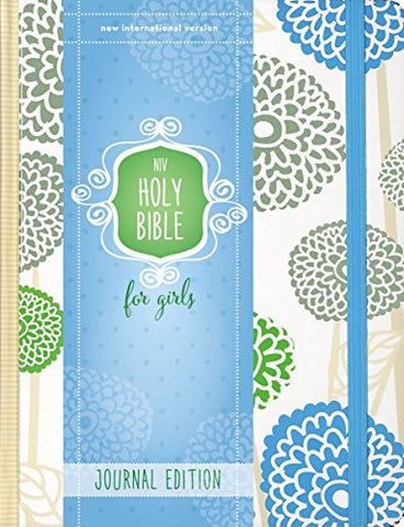NIV Holy Bible for Girls, Journal Edition, Hardcover, Mint, Elastic Closure
