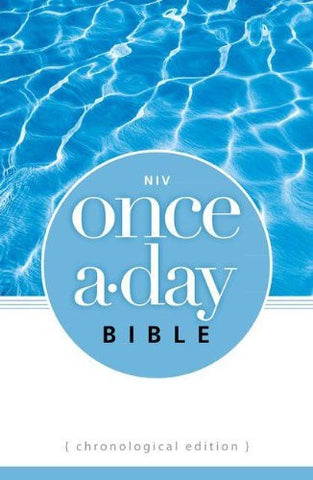NIV, Once-A-Day Bible: Chronological Edition, Paperback