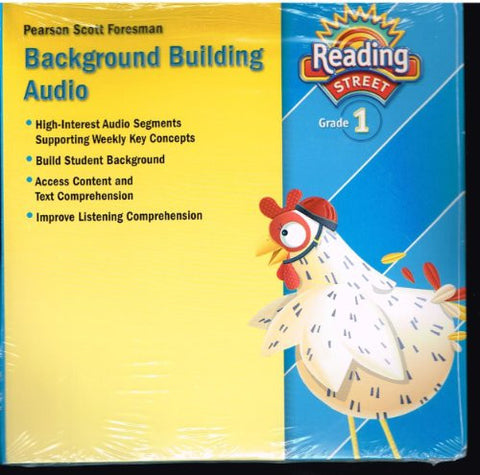 READING 2011 BACKGROUND BUILDING CD GRADE 1