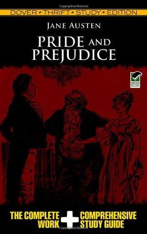 Pride and Prejudice (Dover Thrift Study Edition)