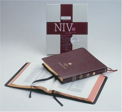 NIV Wide-Margin Burgundy bonded NIVWM202