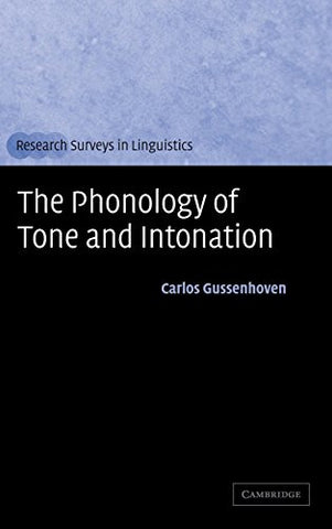 The Phonology of Tone and Intonation (Research Surveys in Linguistics)