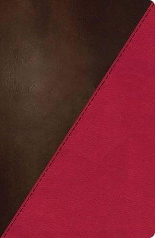 NKJV Study Bible, Imitation Leather, Pink/Brown, Indexed: Full-Color Edition