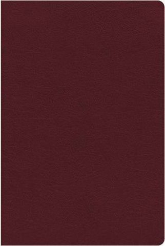 NKJV Study Bible, Bonded Leather, Burgundy, Indexed: Full-Color Edition