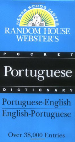 Random House Webster's Pocket Portuguese Dictionary (Best-Selling Random House Webster's Pocket Reference)