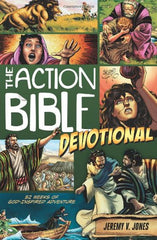 The Action Bible Devotional: 52 Weeks of God-Inspired Adventure (Action Bible Series)