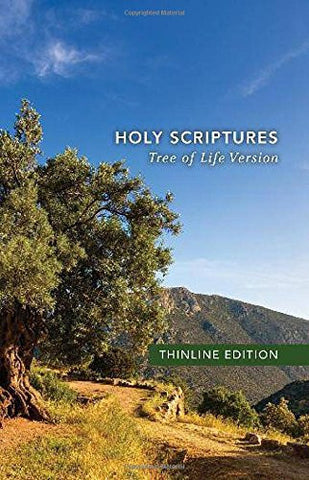 TLV Thinline Bible, Holy Scriptures, hardcover