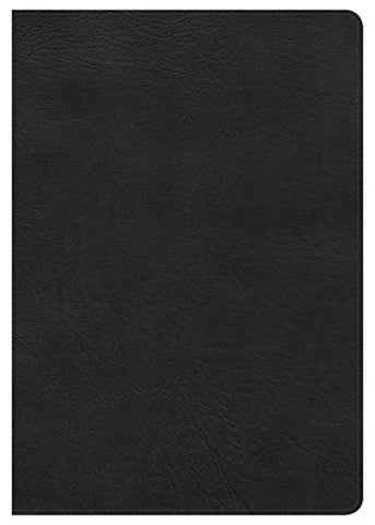 NKJV Super Giant Print Reference Bible, Black LeatherTouch