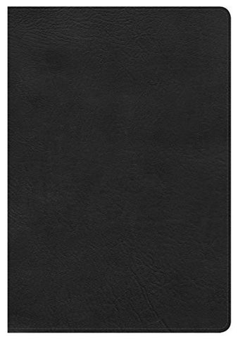 NKJV Giant Print Reference Bible, Black LeatherTouch, Indexed