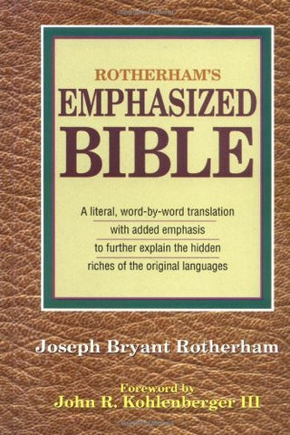 Rotherham's Emphasized Bible
