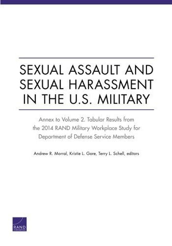Sexual Assault and Sexual Harassment in the U.S. Military: Annex to Volume 2. Tabular Results from the 2014 RAND Military Workplace Study for Department of Defense Service Members