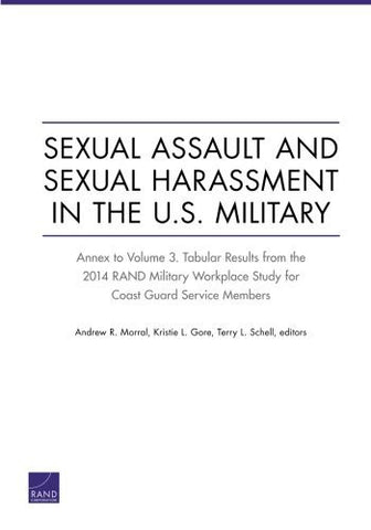 Sexual Assault and Sexual Harassment in the U.S. Military: Annex to Volume 3. Tabular Results from the 2014 RAND Military Workplace Study for Coast Guard Service Members