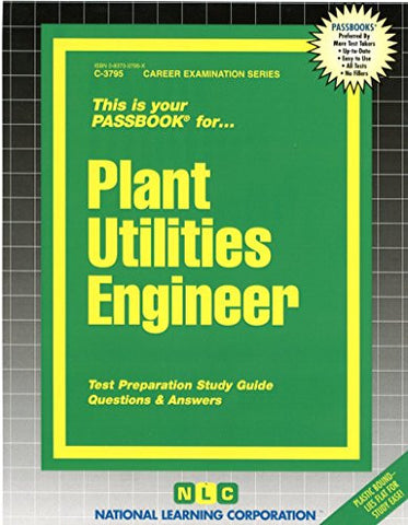 Plant Utilities Engineer(Passbooks)