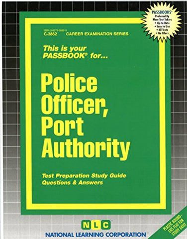 Police Officer, Port Authority(Passbooks)