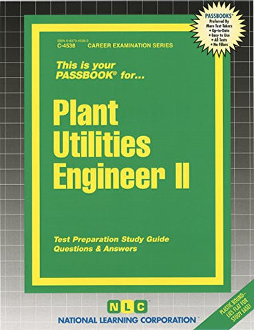 Plant Utilities Engineer II (Passbooks)