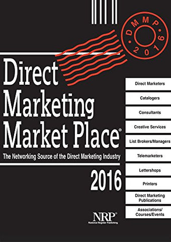 The Direct Marketing Marketplace Directory 2016