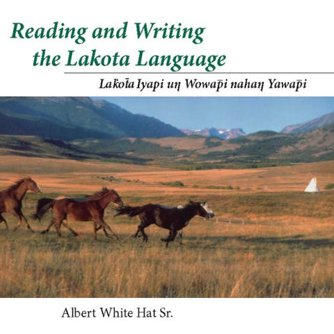 Reading and Writing the Lakota Language Book on CD