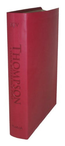 Thompson Chain Reference Bible (Style 507red index) - Regular Size KJV - Deluxe Kirvella