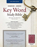 The Hebrew-Greek Key Word Study Bible: KJV Edition, Burgundy Bonded (Key Word Study Bibles)