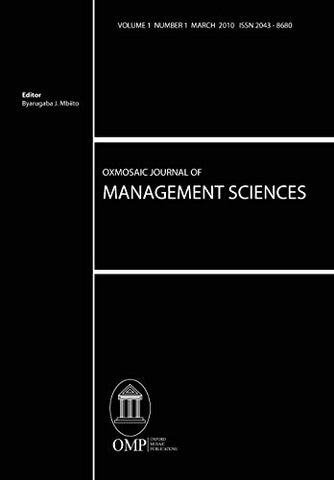 Oxmosaic Journal of Management Sciences