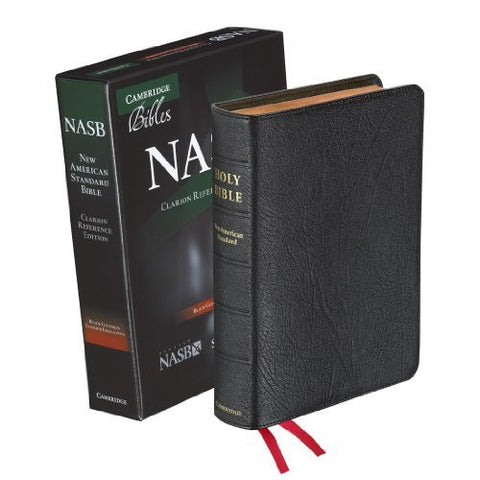 NASB Clarion Reference Edition (Black Goatskin)