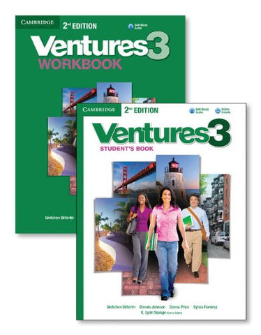Ventures Level 3 Value Pack (Student's Book with Audio CD and Workbook with Audio CD)