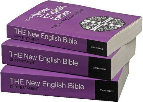The New English Bible Library Edition 3 Volume Paperback Set